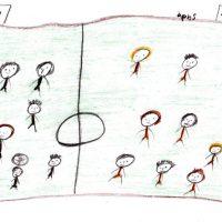 Ποδόσφαιρο με πάνινη μπάλα