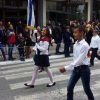 Μαθητική παρέλαση 28ης Οκτωβρίου 2014